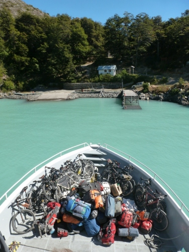 A lot of kit leaves the Carretera Austral