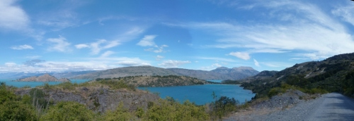 Still the same colour: Lago General Carrera