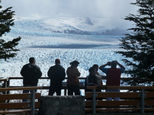 A view worth hitching for: Glacier Perito Moreno