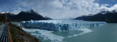 Glacier Perito Moreno, still advancing!