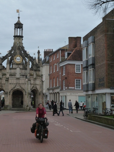 Cycling through Winchester